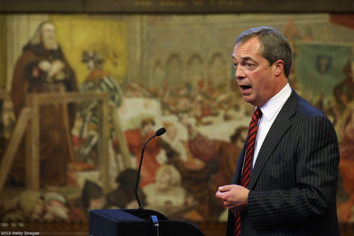 Farage in partial retreat over Syrian refugee call