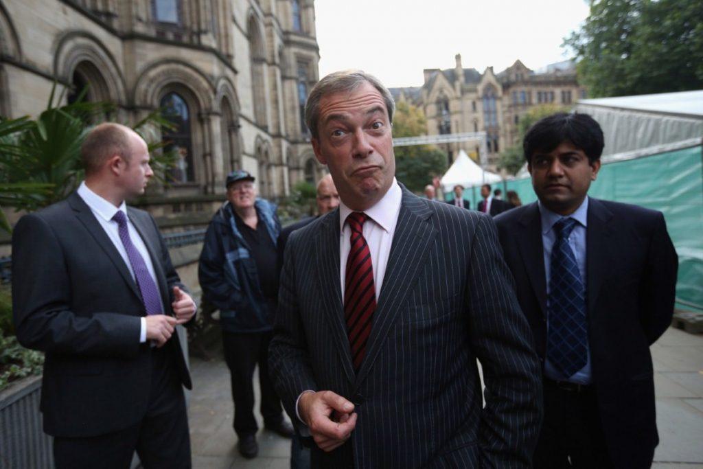 "Nigel Farage: handgun ban is ""ludicrous"""