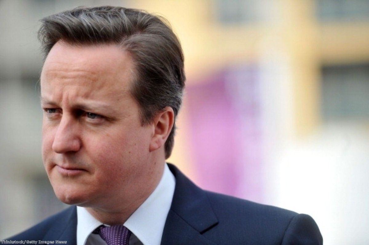 """David Cameron has come under fire for his """"bunch of migrants"""" comment"""
