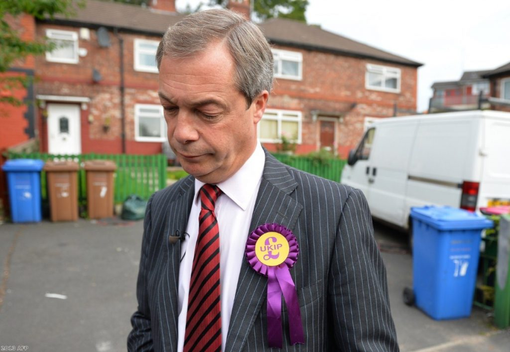 Nigel Farage: Under fire