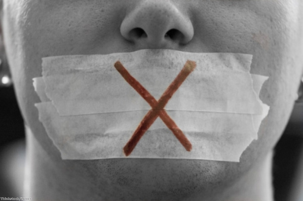 Another row over free speech and no-platforming has broken out
