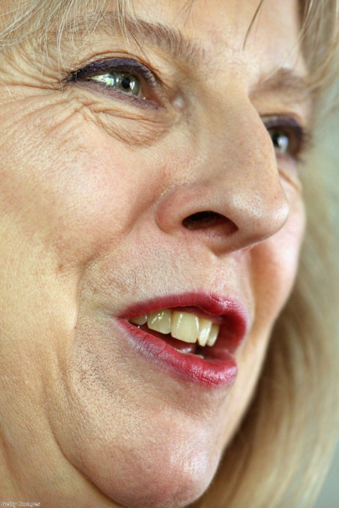 Theresa May: Report slipped out as she took to her feet in the Commons