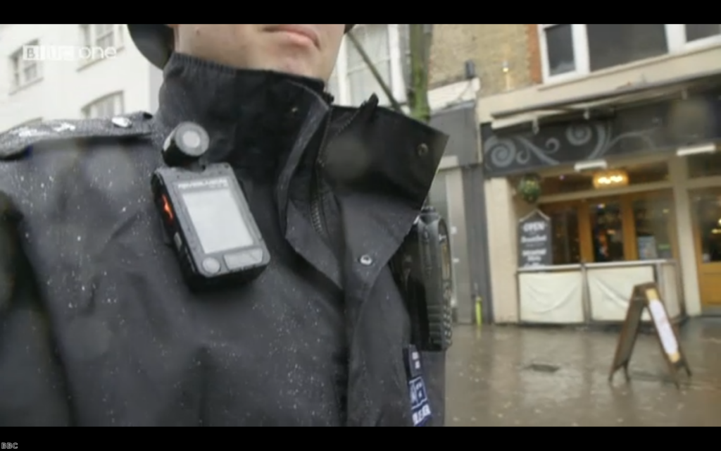 Police officers with body-worn cameras could become a common sight.