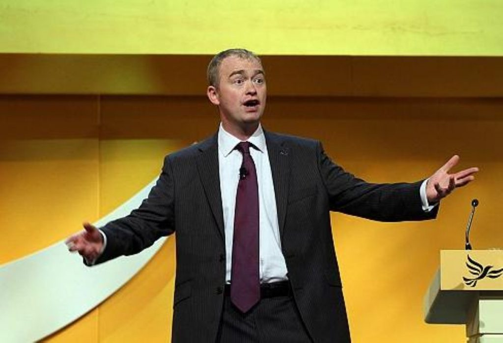 Farron: Aiming to entice EU supporters from Labour to the Lib Dems