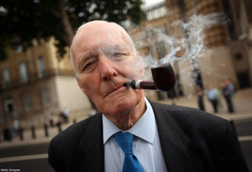 Tony Benn has been in hospital since the weekend