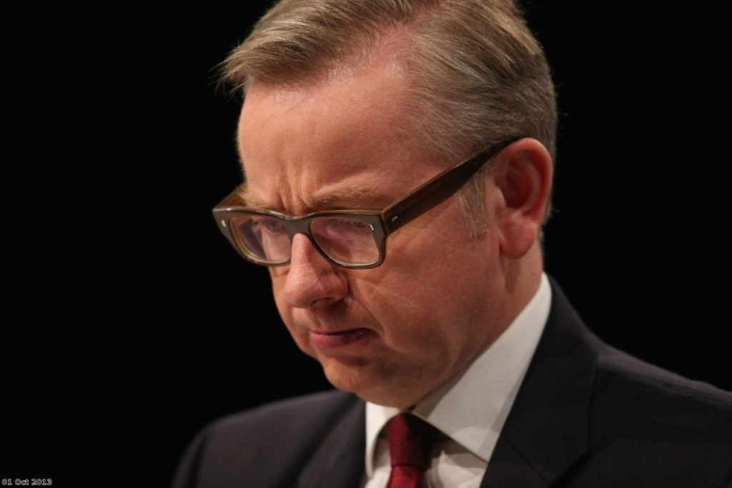 Michael Gove faces first big test as barristers vote for legal aid action