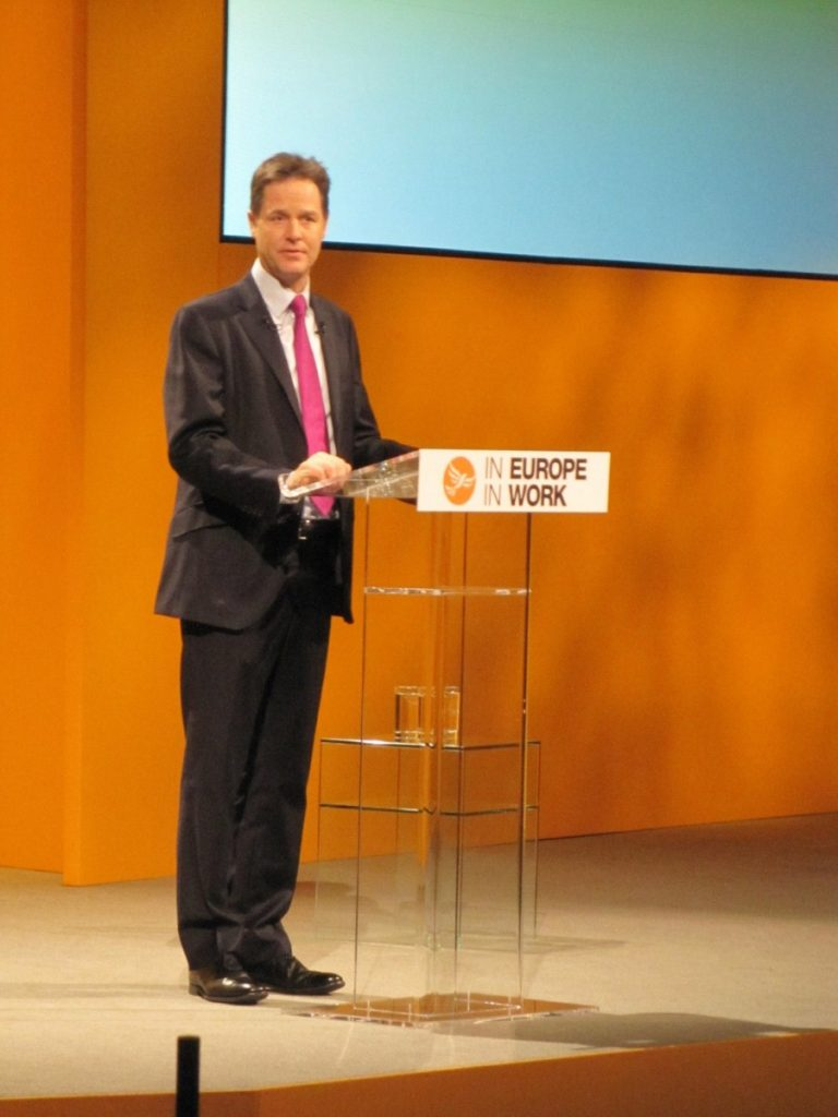 Clegg puts patriotism at the heart of his spring conference speech