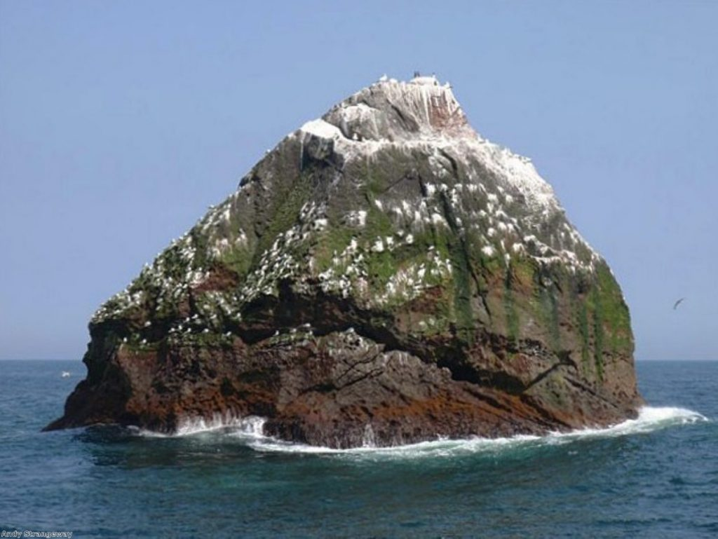 Rockall, the last expansion of the British Empire
