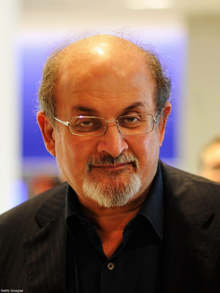 Salmon Rushdie joins campaign against prison book ban