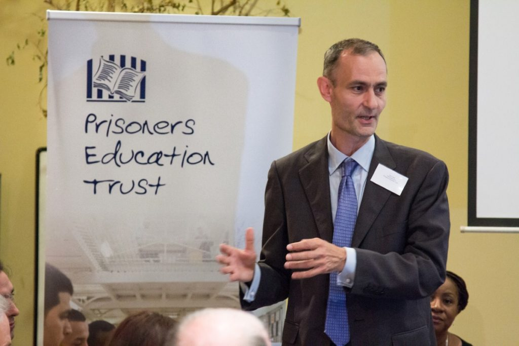 Rod Clark: 'The government's own research has proved what we do reduces reoffending by a quarter' (Credit: Rebecca Radmore)