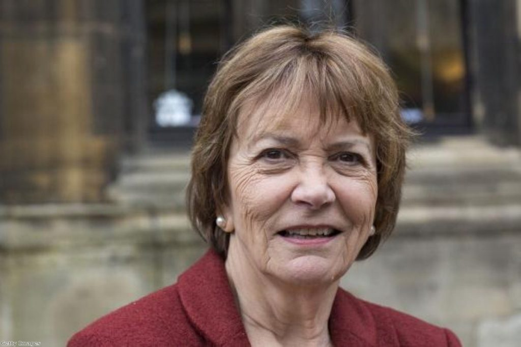 """Joan Bakewell: """"Beating people up, even if they like it, has to be damaging and has to be criminal."""""""