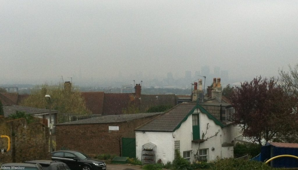 London smog: Tens of thousands die from air pollution every year in the UK.