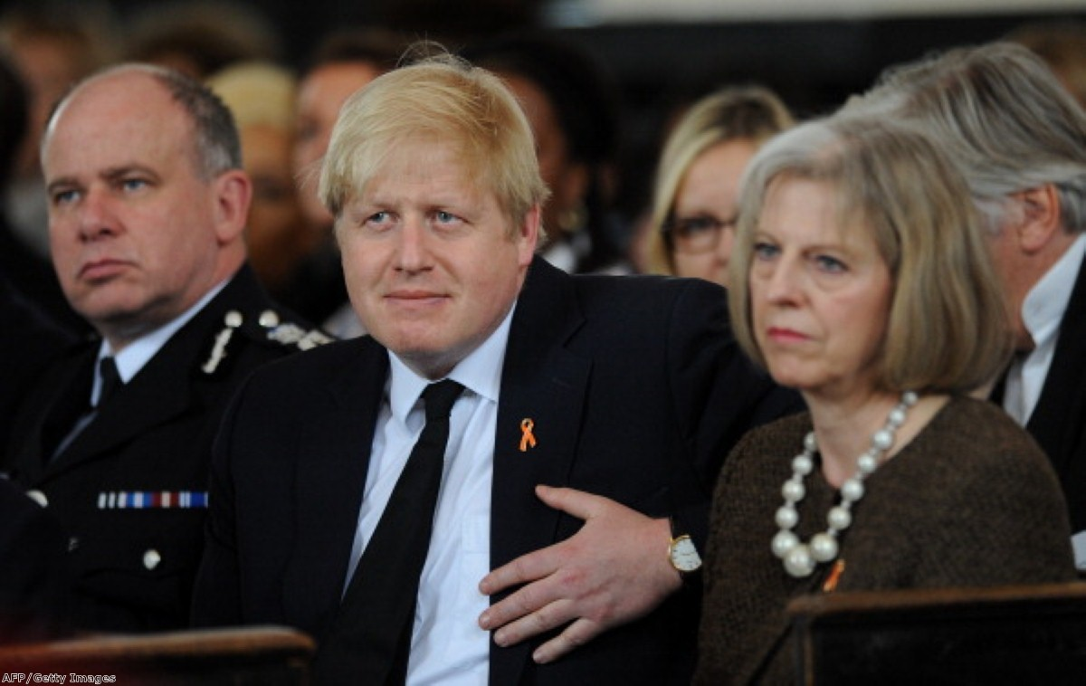 Boris Johnson at odds with hardline stance of home secretary Theresa May