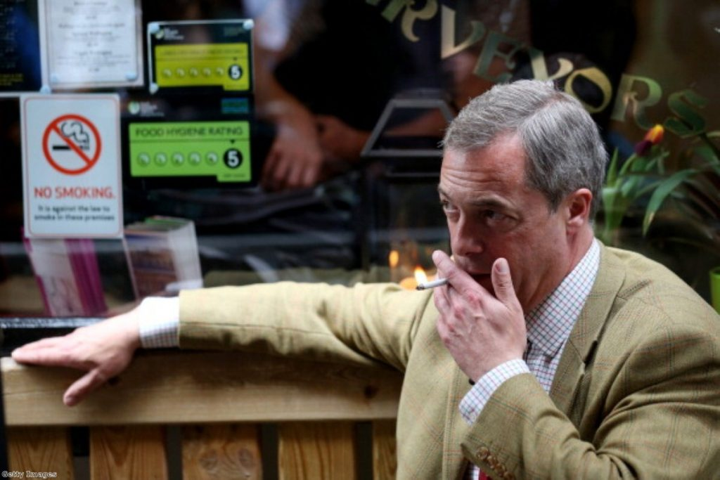 Bubble Burst: Farage decided risk of failure too high