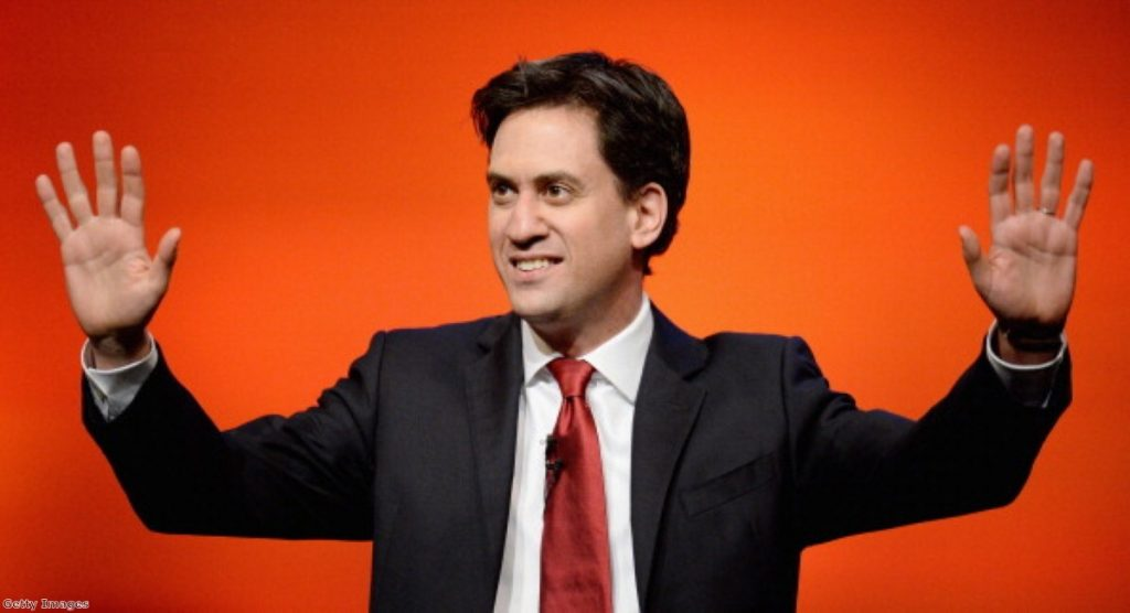 Ed Miliband: Failing to entice Tory voters?