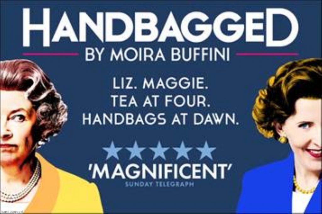 "Handbagged: A ""magnificent"" production"