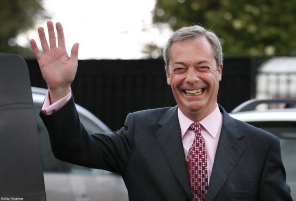 Nigel Farage: The right's answer to David Owen
