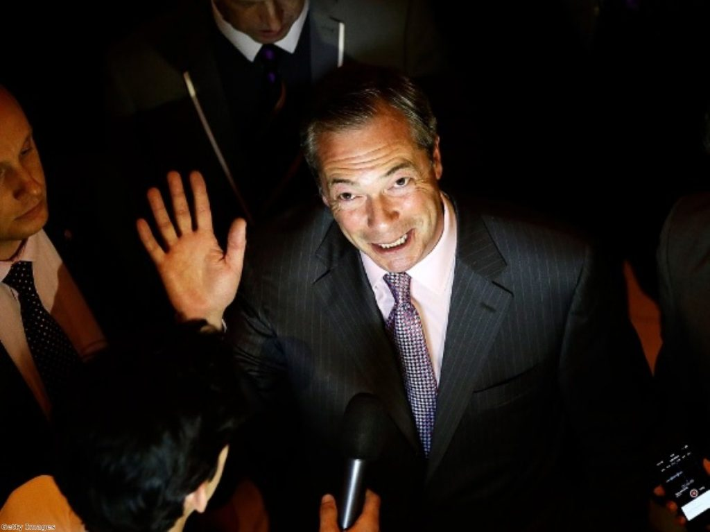 Nigel Farage's eurosceptic message resonated with voters even more strongly than in 2009