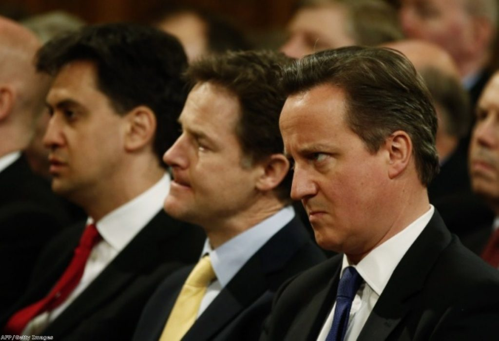 Ed Miliband, Nick Clegg and David Cameron made their promise - now they must keep it