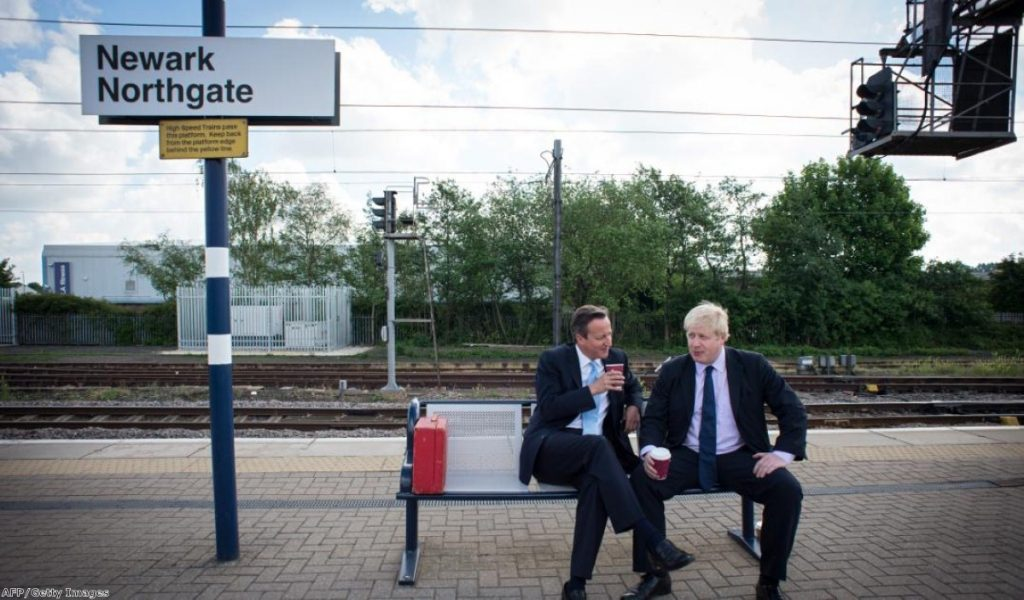 David Cameron and Boris Johnson are among those who've been on the campaign trail in Newark