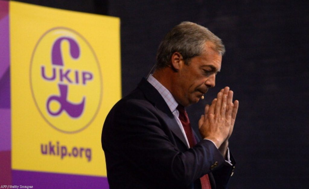 Nigel Farage: Under pressure