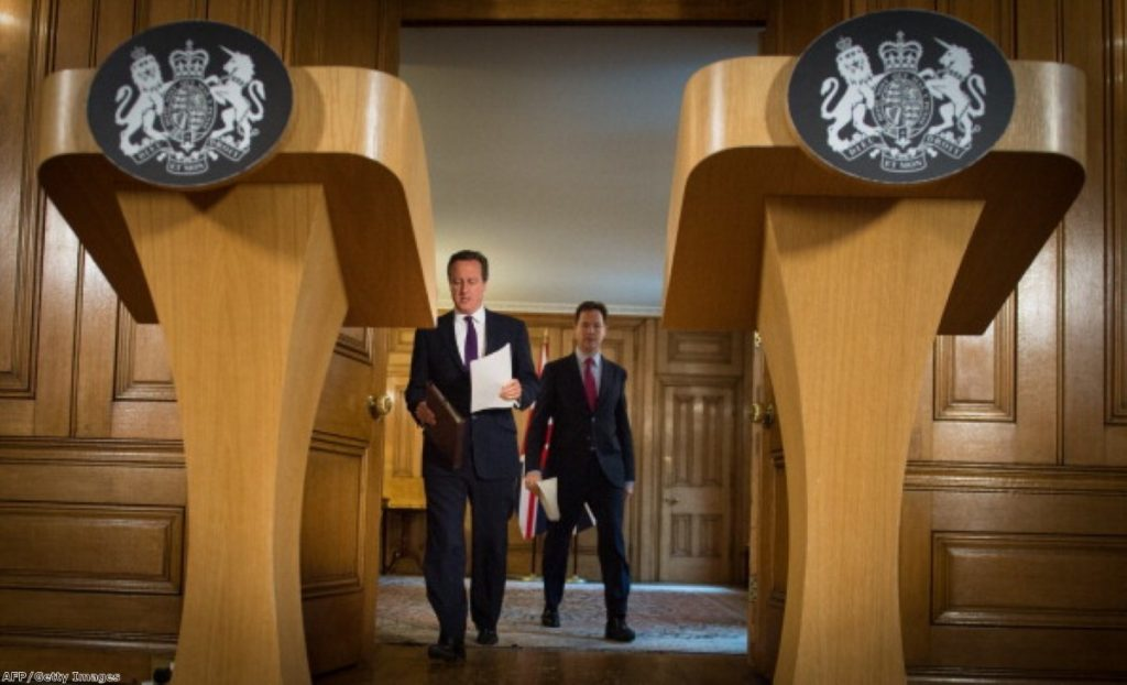 Cameron and Clegg conspired to push through new surveillance powers this week