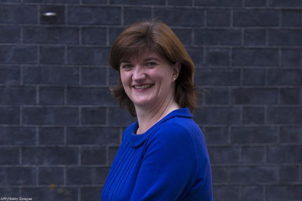 Nicky Morgan: Struggled during Today programme interview