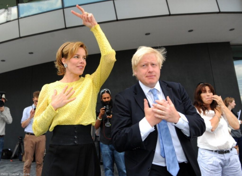 Johnson's aides are urging him to delay a return to Parliament.
