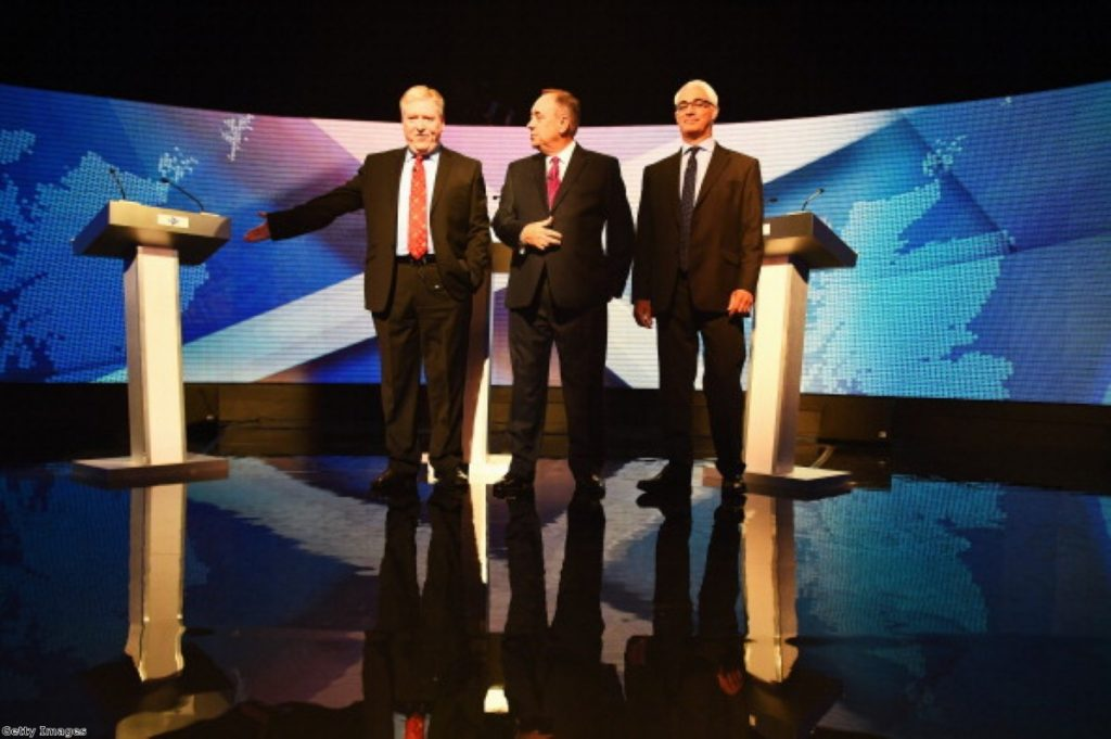 Alex Salmond didn't live up to expectations last night.