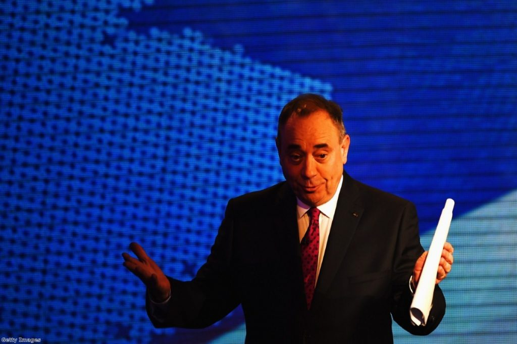 Salmond's nationalism: as ugly as all the others?