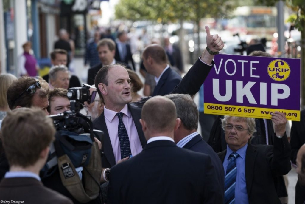 Douglas Carswell is on course for a massive by-election victory in Clacton