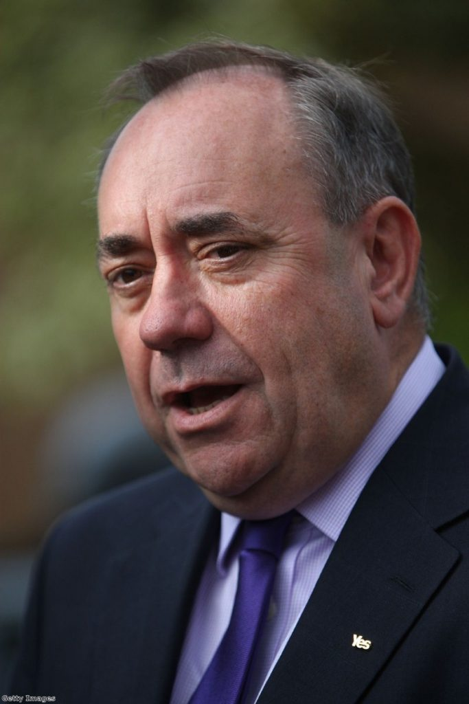 Salmond: 'You're not getting out enough!'