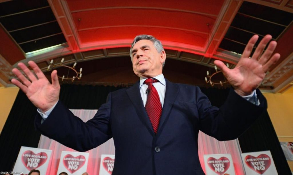 Gordon Brown: One of his best ever speeches