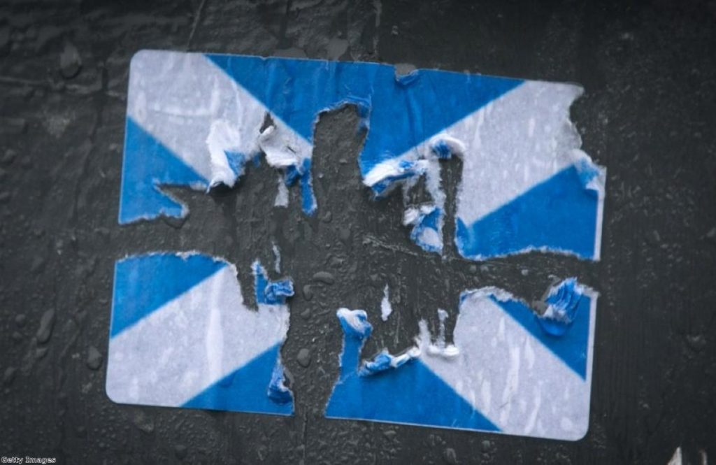Scotland's Big Voice's tactical voting wheel