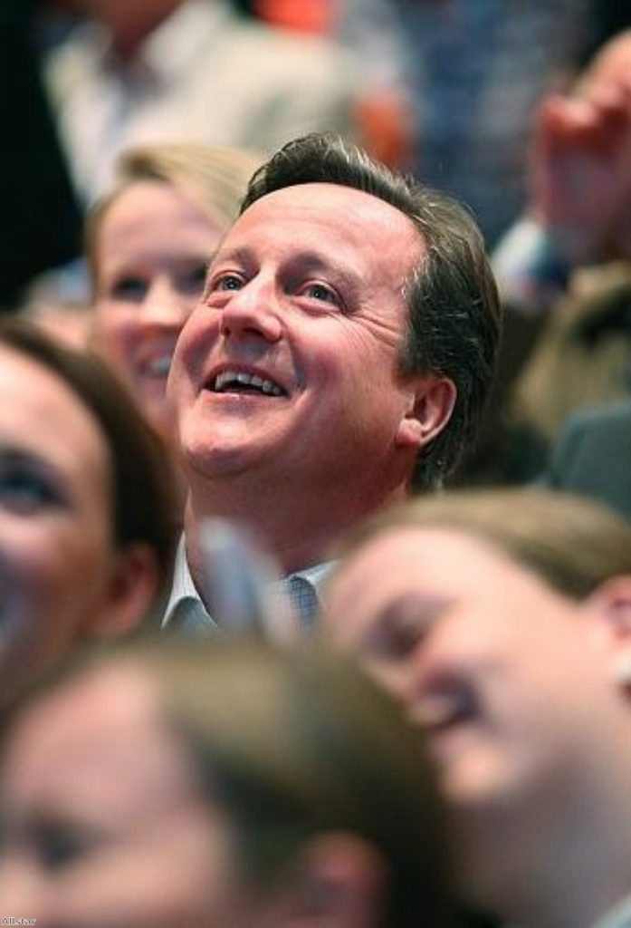 Discovering his mission? Cameron's ingenious speech will help him, but not the country