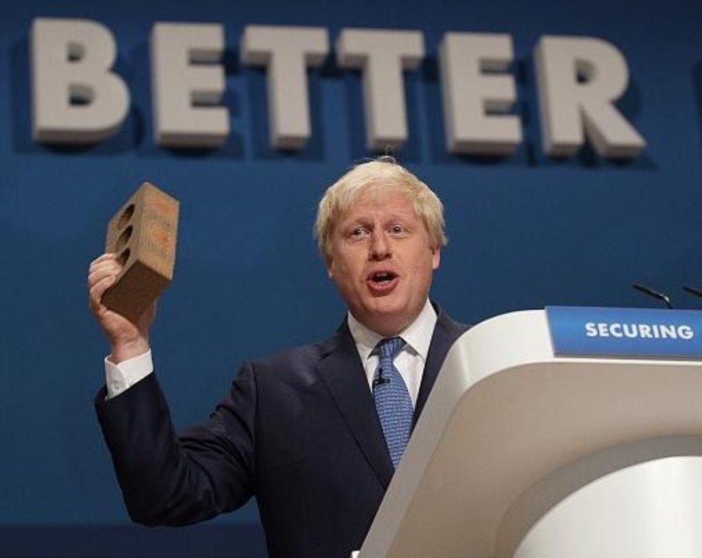 "Boris Johnson: ""ghastly ethic of Corbynista revolt"""