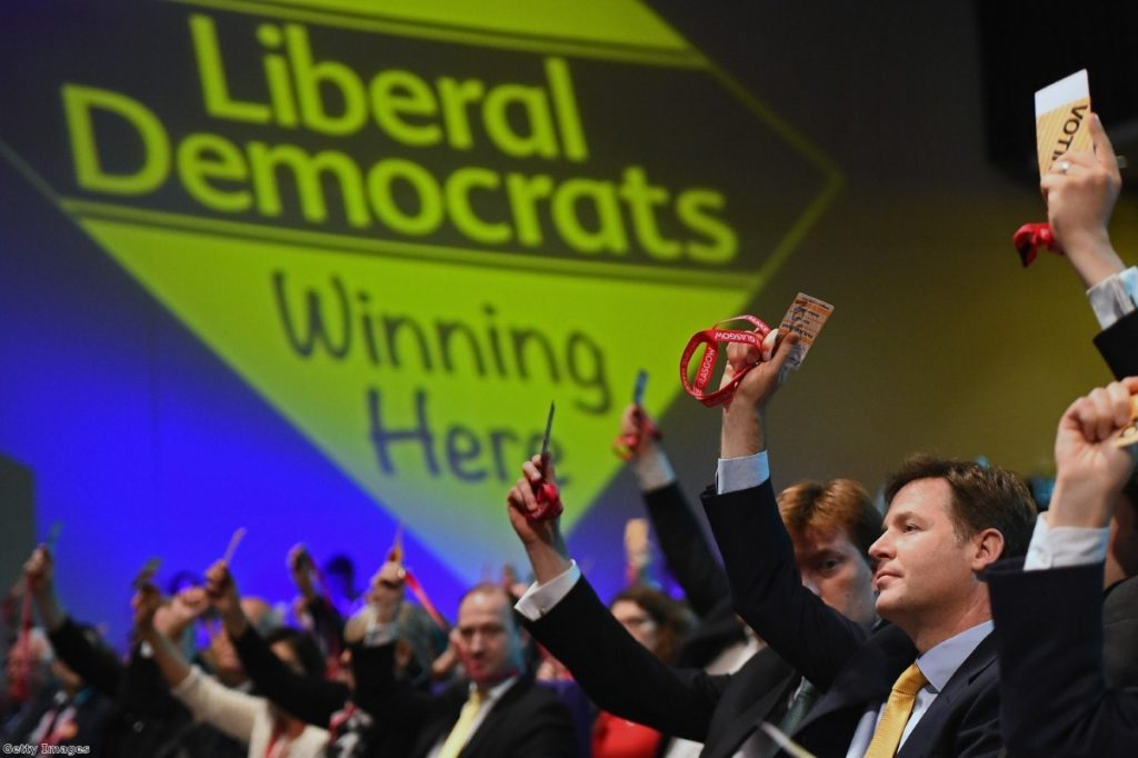 Nick Clegg votes in favour of airport expansion - unsuccessfully