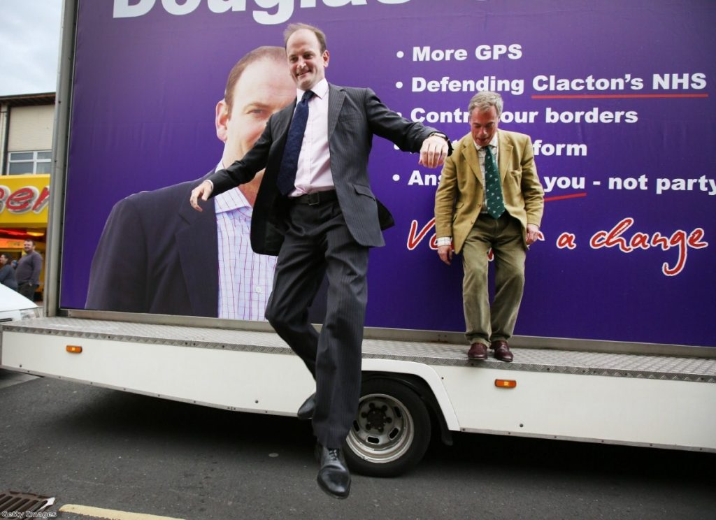 The Carswell and Farage show: Tensions will bubble to the surface
