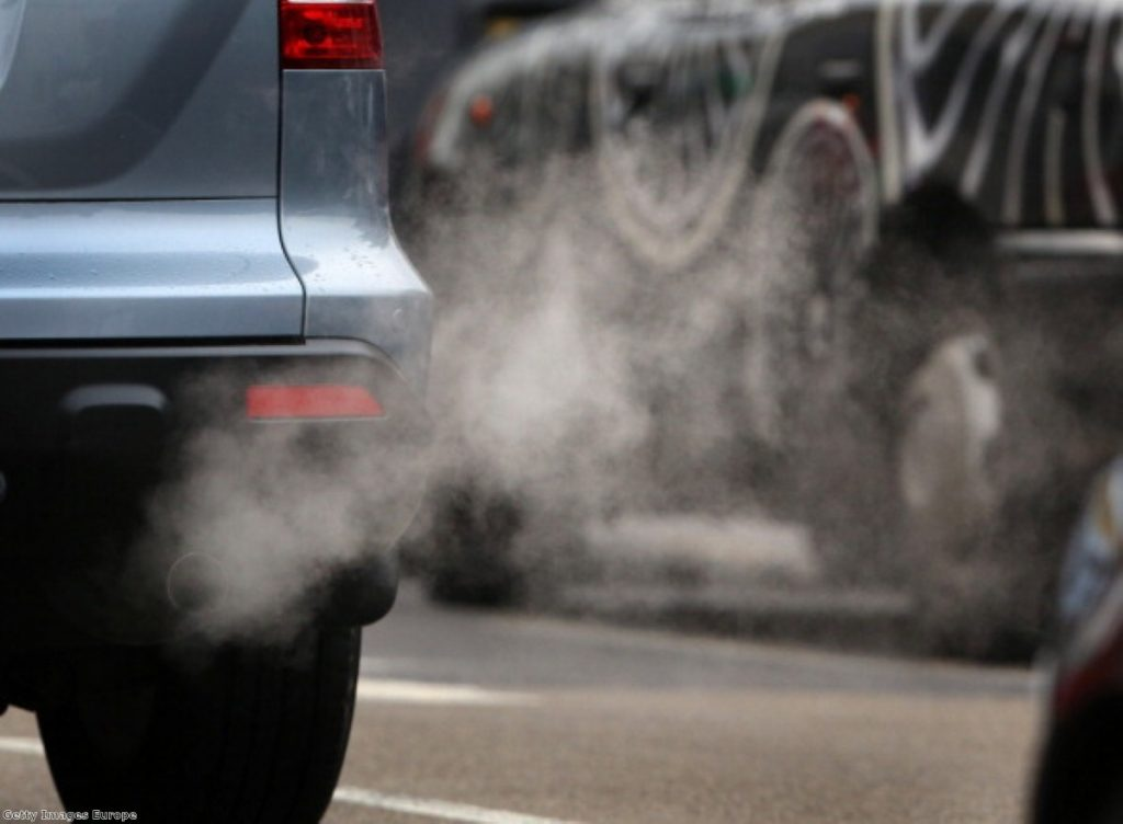 London has some of the most polluted streets in the world
