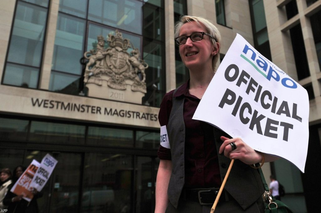 Picket: Napo has tried to stop the sell-off but is now considering judicial review