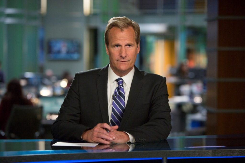 Win: Five copies of The Newsroom season two on blu-ray