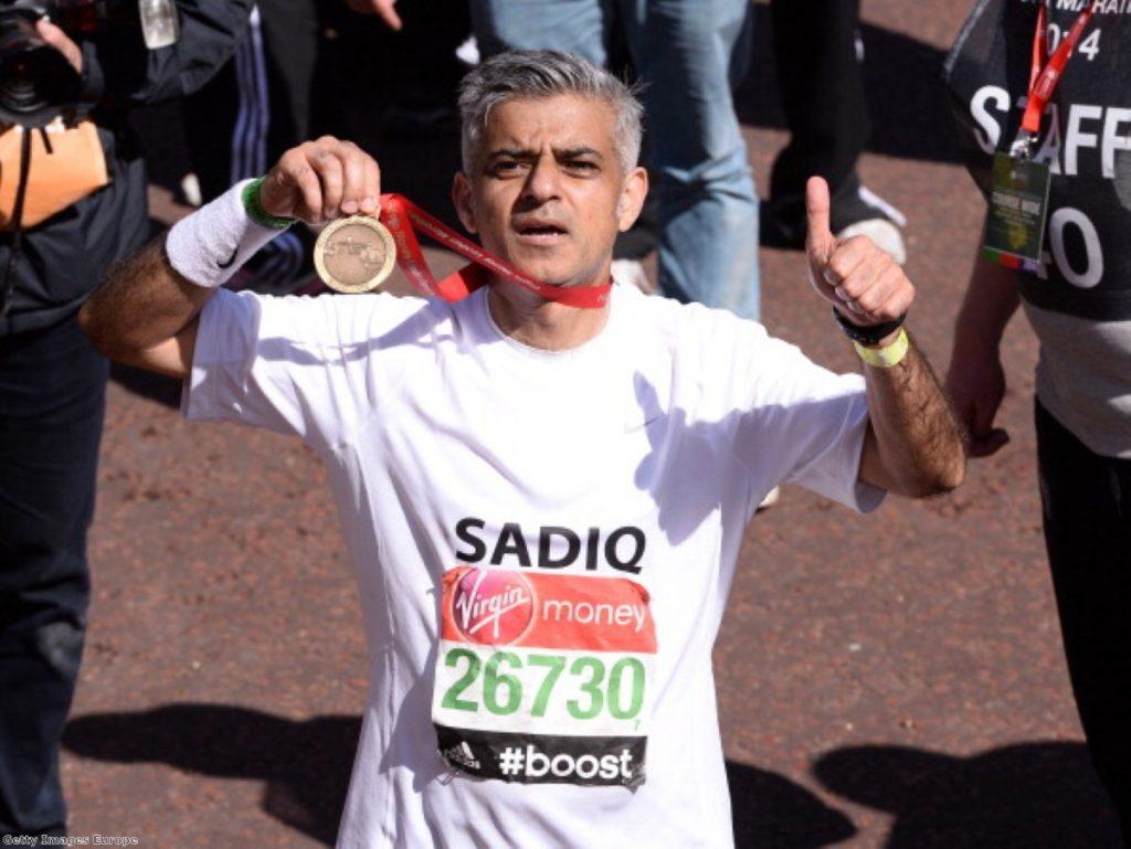 Sadiq Khan: In the running for City Hall
