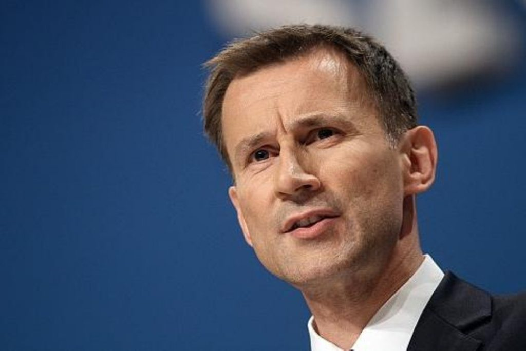 "Jeremy Hunt: ""There is no such thing as a free health service"""
