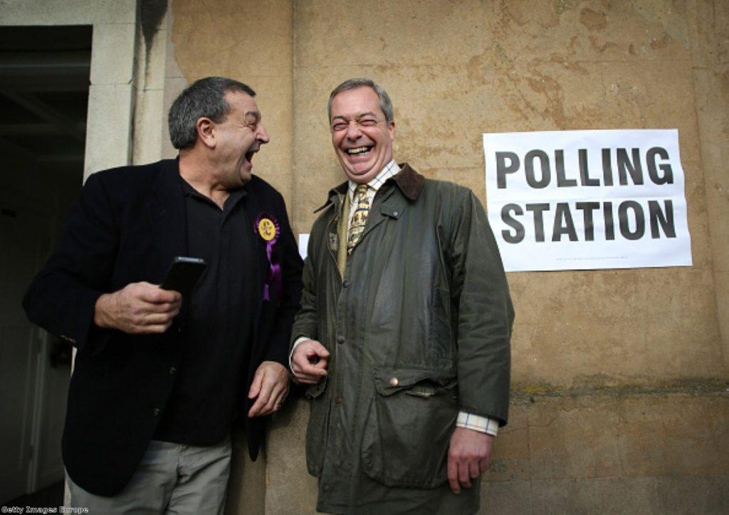 A good night for Nigel Farage?
