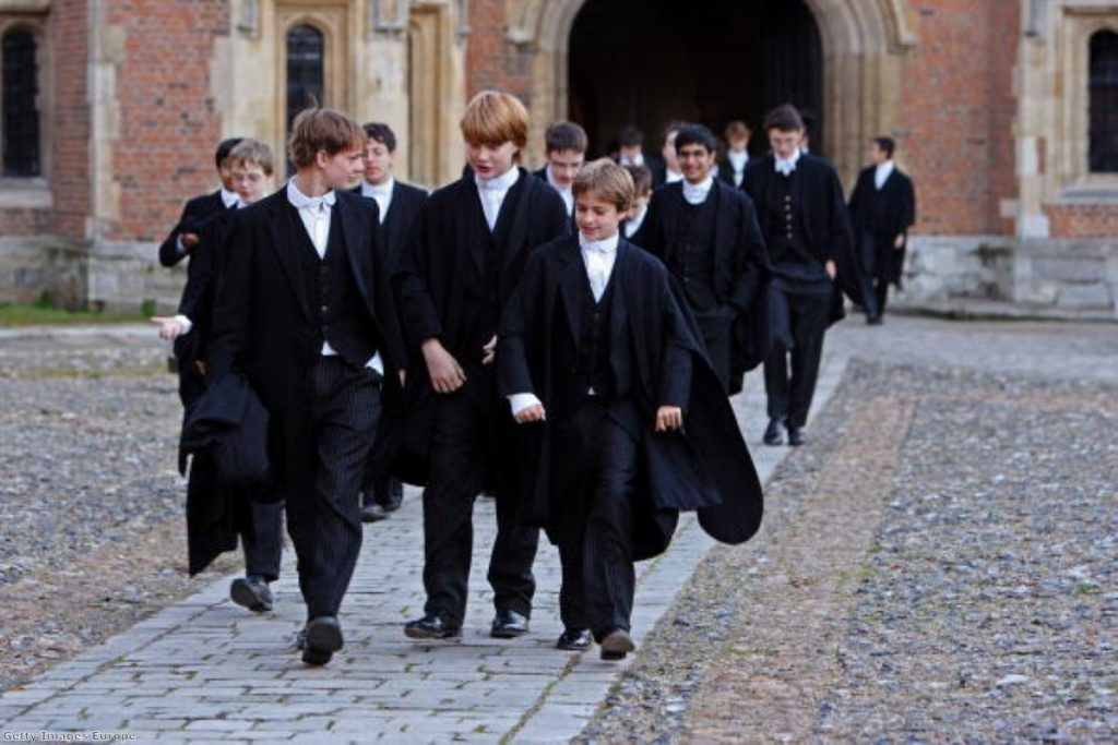 Why should schools like Eton college continue to be subsidised by the state?