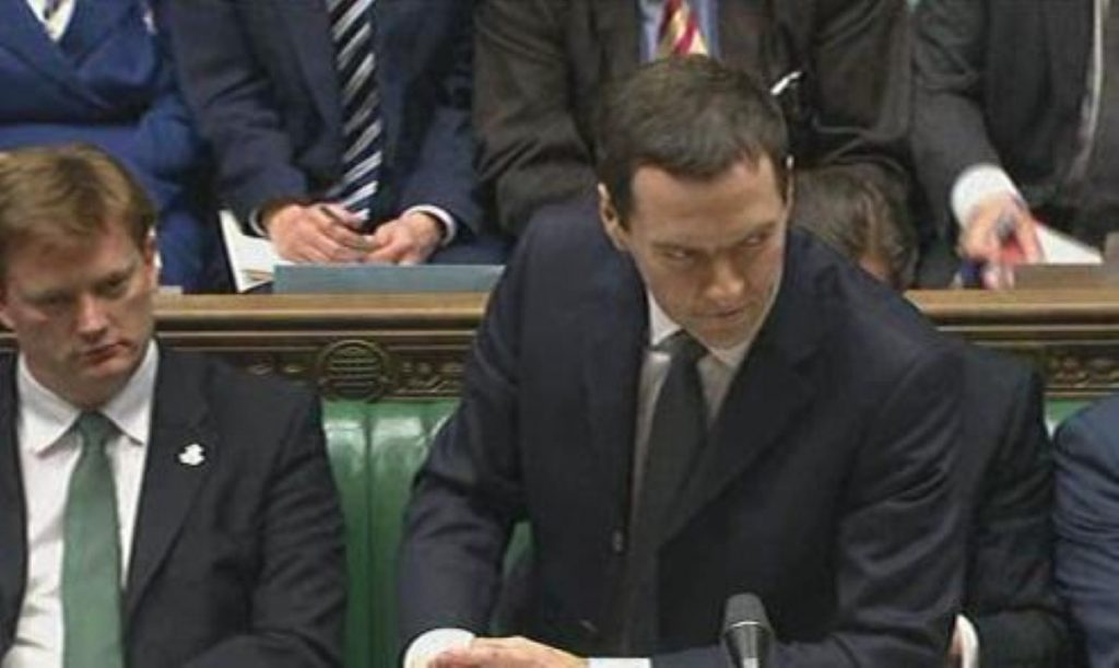Managing impressions: Osborne doesn't want party manifestos audited by the OBR