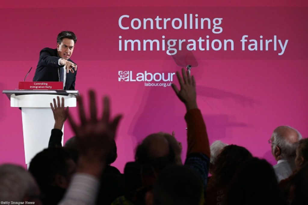 Ed Miliband promises to tackle the exploitation of immigrant Labour