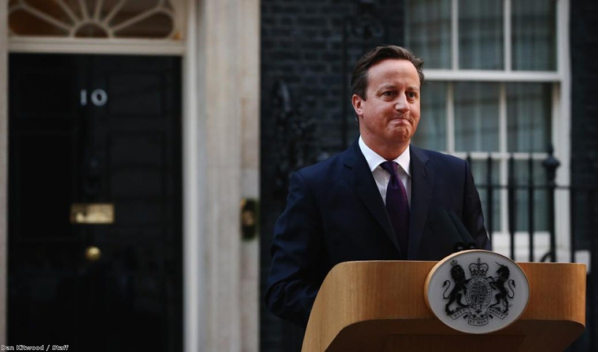 David Cameron promised English votes for English laws 'in tandem' with Scottish devolution