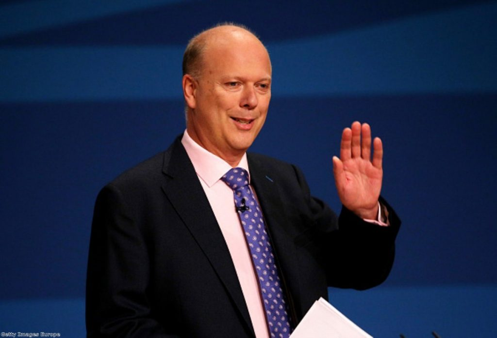 It's been another bad week for justice secretary Chris Grayling
