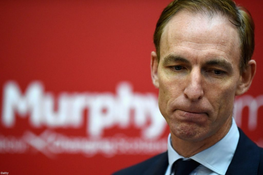 Jim Murphy: Counted out